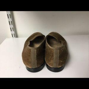 Stubbs & Wootton Shoes - Stubbs & Wootton brown velvet loafers size 5.5